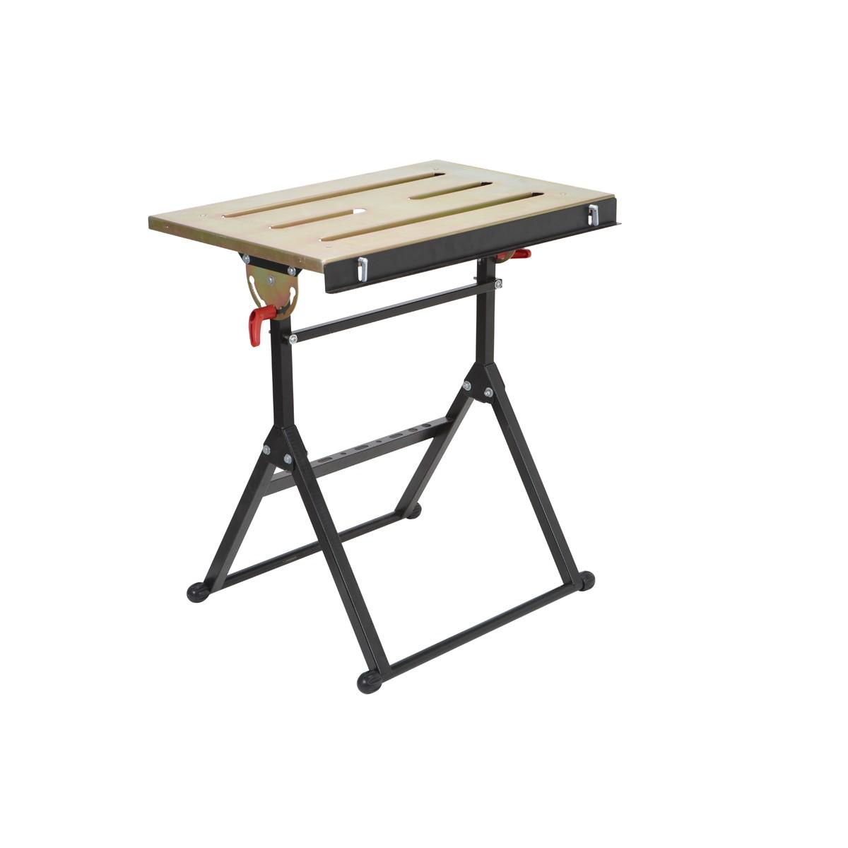 unique folding welding table